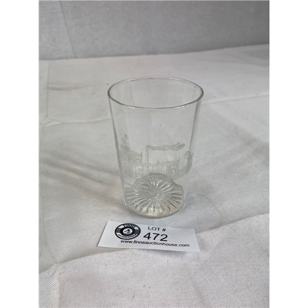 Rare Hard to find original Vancouver breweries beer glass early 1900's