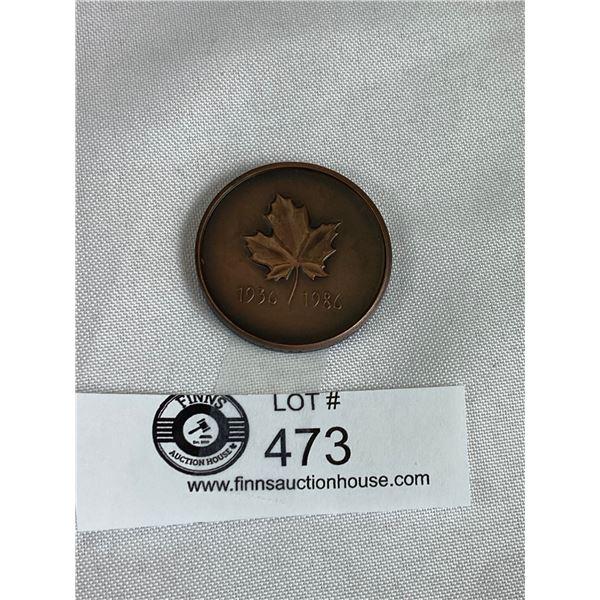 Toronto Coin Club Medallian 1936-1986