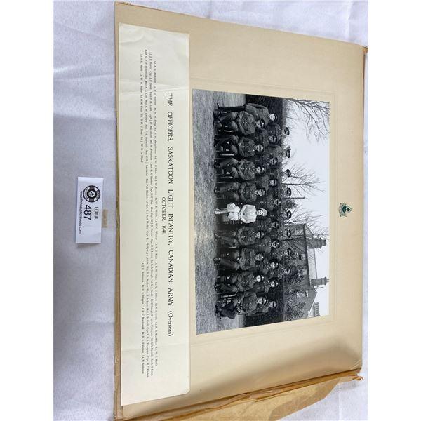 1940+1941 ww2 Photographs saskatoon light infantry 18x13