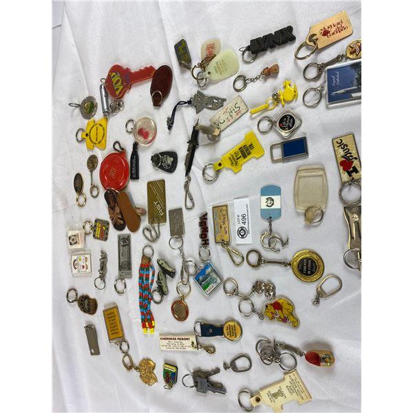 Nice Lot of vintage keychains