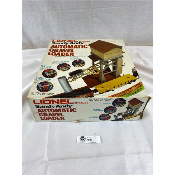 Lionel Trains Sandy Andy Automatic Gravel Loader with original Box