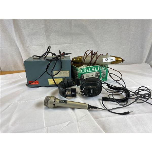 Lot of Vintage Radio Equipment./A/V items