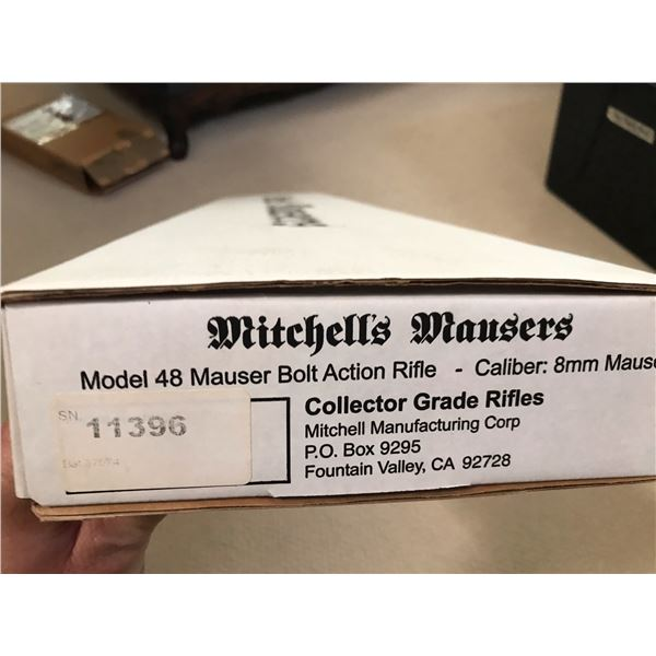 Mitchell's Mausers, M48 Mauser 8 MM Collector Grade New in Box.