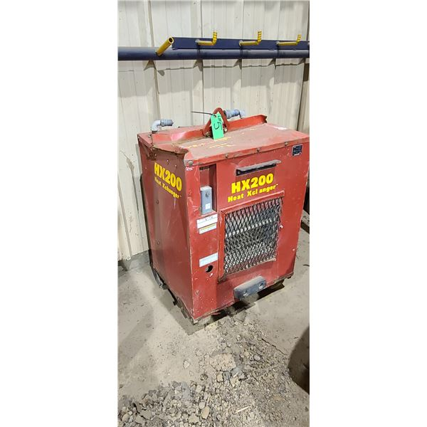 HX 200 HEAT XEL WACKER HAUSER HEATER HX200 LOCATED IN FORT MCMURRAY