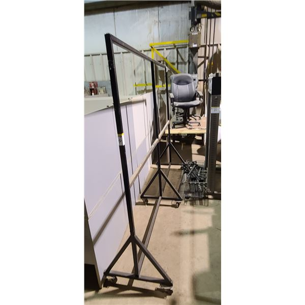 "6"" X 6"" X 8' STEEL STAND LOCATED IN FORT MCMURRAY"