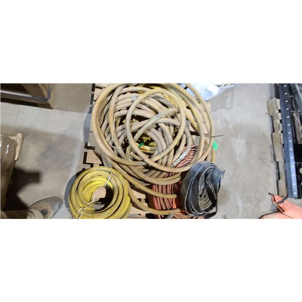 SKID OF ASSORTES WATER AND AIR HOSES LOCATED IN FORT MCMURRAY