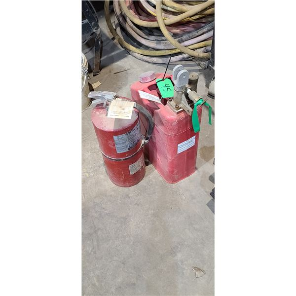 TWO FIRE EXTINGUISHERS LOCATED IN FORT MCMURRAY