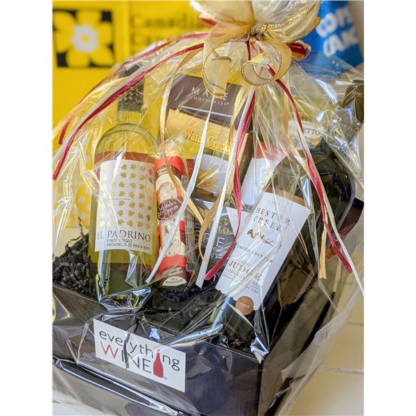 WINE BASKET BY EVERYTHING WINE: TOTAL VALUE $115