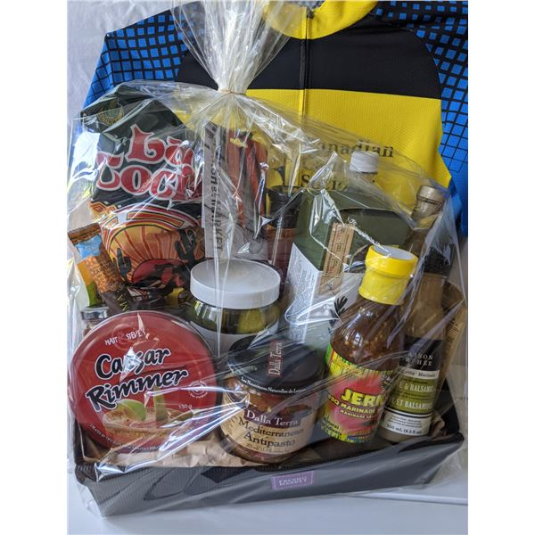 DELICIOUS GIFT BASKET FROM FRESH ST. MARKET: TOTAL VALUE: $75