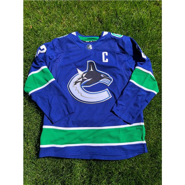 BO HORVAT JERSEY BY THE HOCKEY SHOP: TOTAL VALUE $250