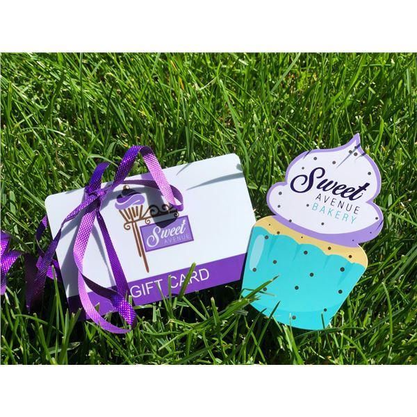 SWEET AVENUE BAKERY $30 GIFT CARD, SWEET AVENUE BAKERY IS LOCATED IN BRICK YARD STATION AT
