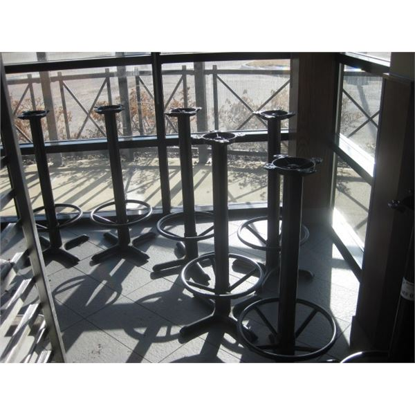 7PC STAND UP BAR TABLE BASE ONE MONEY