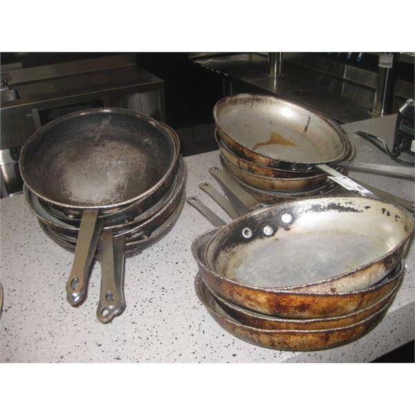 14PC FRYING PANS