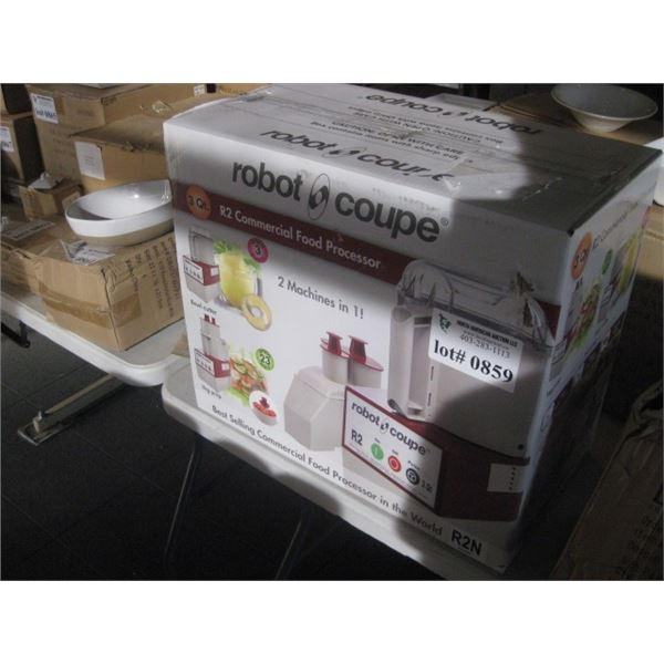NEW IN BOX ROBOT COUPE R2 COMMERCIAL FOOD PROCESSOR
