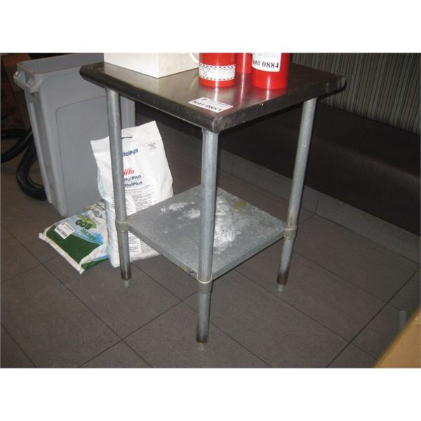 STAINLESS TABLE / STAND 24 INCH
