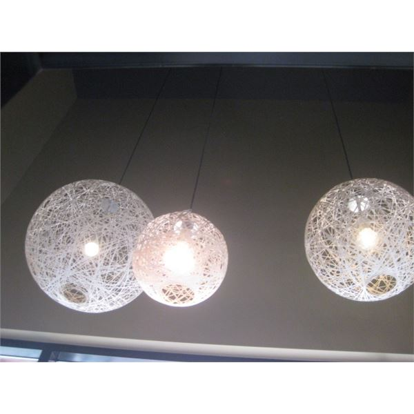 3PC SCONE STYLE LIGHTING - BUYER MUST REMOVE