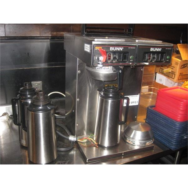 BUNN DOUBLE CW SERIES AIR POT BREWER
