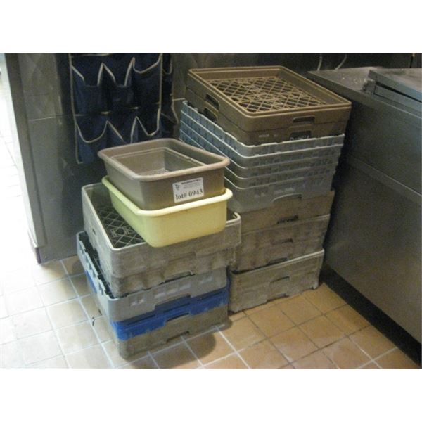 ASSORTED DISHWASHER TRAYS