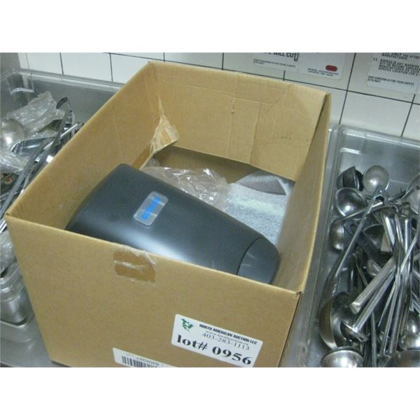 BOX OF ECO SOAP DISPENSERS