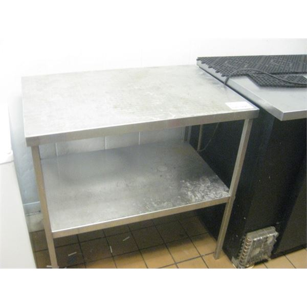 REPO STAINLESS STEEL TABLE 36 X 24 INCH