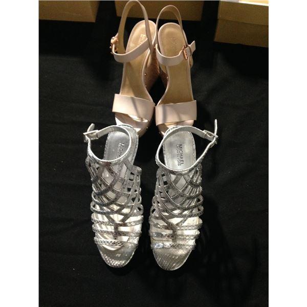 2 PAIRS OF LADIES MICHAEL KORS DRESS SHOES SIZE 6/6.5