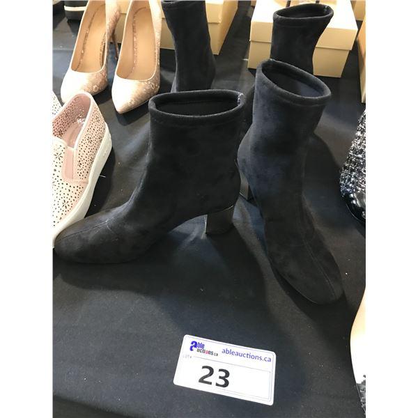 2 LADIES MICHAEL KORS BLACK BOOTS SIZE 6/6.5