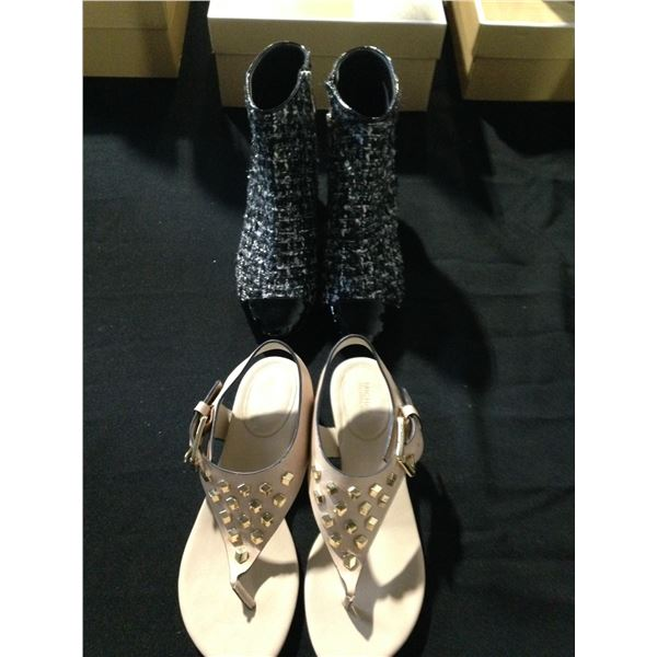 MICHAEL KORS BOOTS AND SANDALS SIZE 6