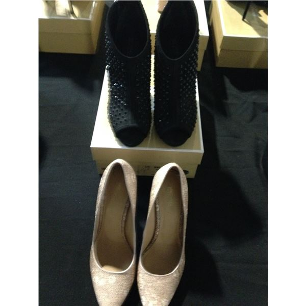 MICHAEL KORS PUMPS 7 AND BOOTS SIZE 9