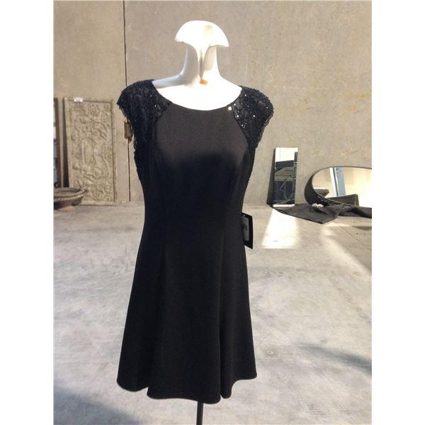 3 DESIGNER DRESSES INCLUDING JS BOUTIQUE, PERUZZI AND JS COLLECTION SIZE 10