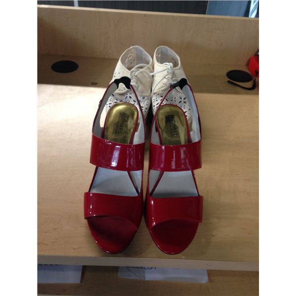 LADIES MICHAEL KORS DRESS SHOES SIZE 6.5 AND FLATS SIZE 9.5