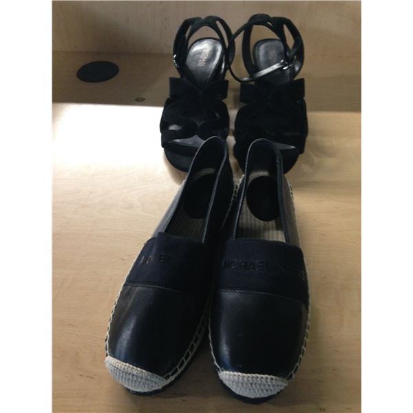LADIES MICHAEL KORS DRESS SHOES AND CASUAL SHOES SIZE 7.5