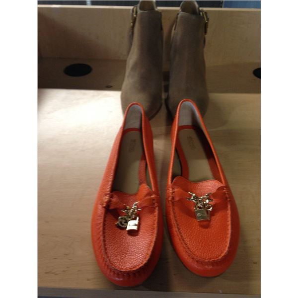 LADIES MICHAEL KORS FLATS AND BOOTS SIZE 10