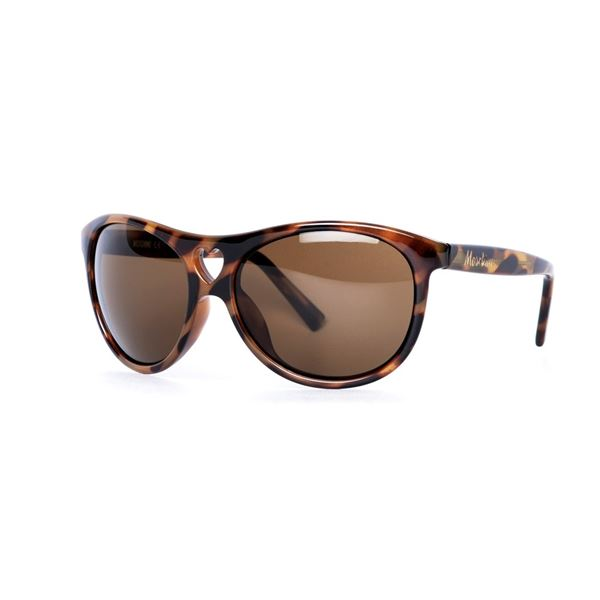 MOSCHINO MO 500 SUNGLASSES - BROWN/BROWN (02) LENS SIZE 61-17-125MM