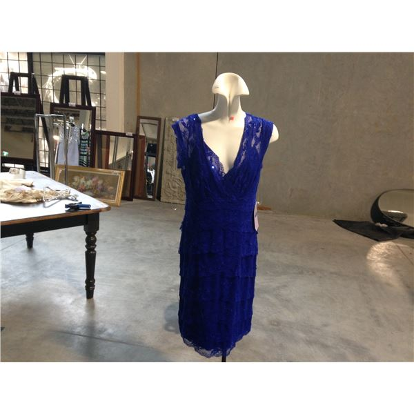 2 DESIGNER DRESSES BY JS COLLECTION SIZE 12