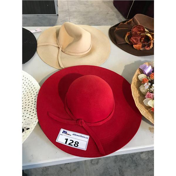 2 LADIES HATS