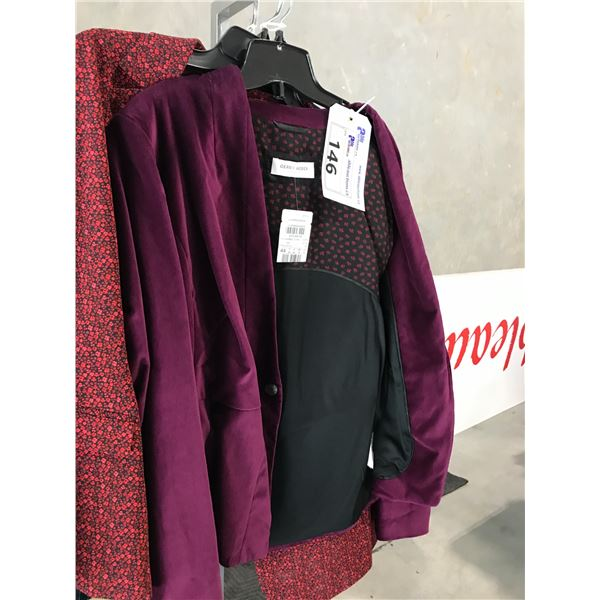 3 DESIGNER LADIES BLAZERS INCLUDING GERRY WEBER, TAIFUN AND BERRY BARCLY SIZE 14