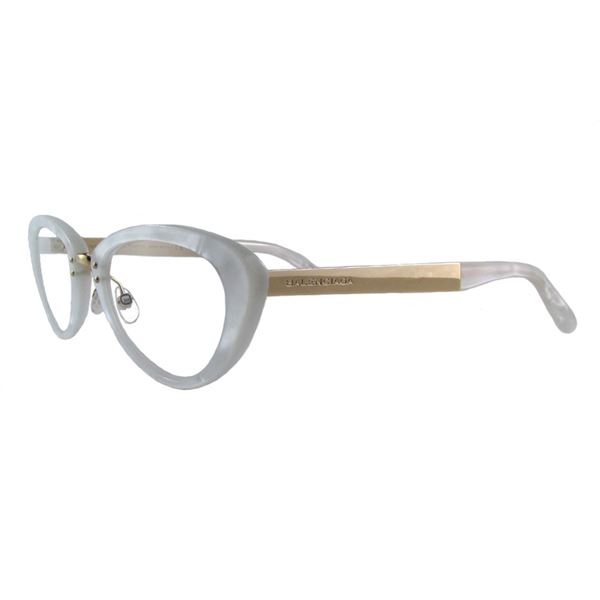 BALENCIAGA DESIGNER READING GLASSES BAL 0147 - MOTHER OF PEARL GOLD (U29) LENS SIZE 50-21-140