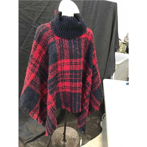 2 CHERIE BLISS WOOL PONCHOS