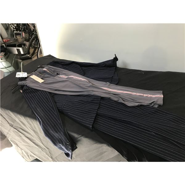 GERRY WEBER PANTS SUIT, CARLO COLUCCI SUMMER DRESS AND A PAIR OF MONARI PANTS, ALL SIZE 12