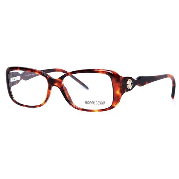 ROBERTO CAVALLI DESIGNER READING GLASSES  RC0626 - HAVANA (052) LENS SIZE 54-15-135