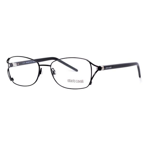 ROBERTO CAVALLI DESIGNER READING GLASSES RC0619 BLACK LENS SIZE 54-17-135