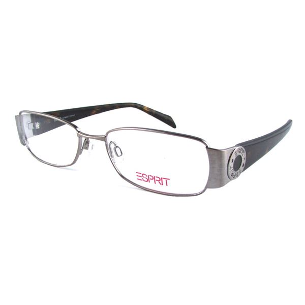 ESPRIT DESIGNER READING GLASSES ET 9347 - PALLADIUM HAVANA (573) LENS SIZE 52-17-135