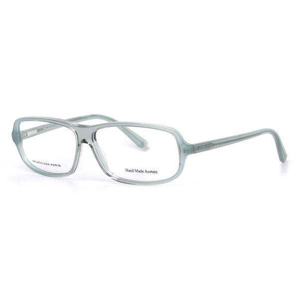 BALENCIAGA PARIS DESIGNER READING GLASSES  BAL 0042 - GREY AZURE (U9E) LENS SIZE 58-12-135MM