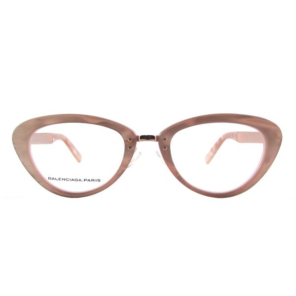 BALENCIAGA PARIS DESIGNER READING GLASSES BAL 0147 - PEACH GOLD COPPER (PD7) LENS SIZE 50-21-140MM