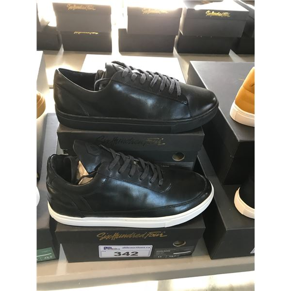 2 SIX HUNDRED FOUR LEATHER UNISEX SHOES SIZE 11 MEN'S IN  SMOOTH RUNWAY $300 RETAIL