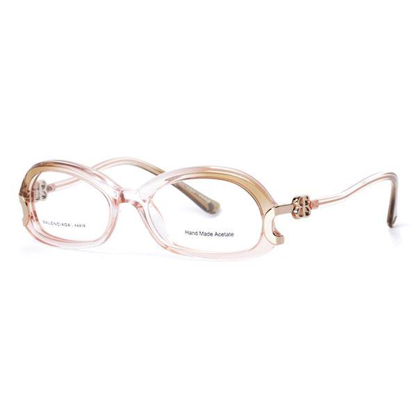 BALENCIAGA PARIS DESIGNER READING GLASSES - BAL 0044 - SHADED POWDER LENS SIZE 51-17-140MM