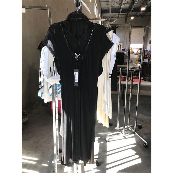 LADIES DESIGNER SHIRT, SWEATER AND DRESS BY BANDOLA SIZE 7