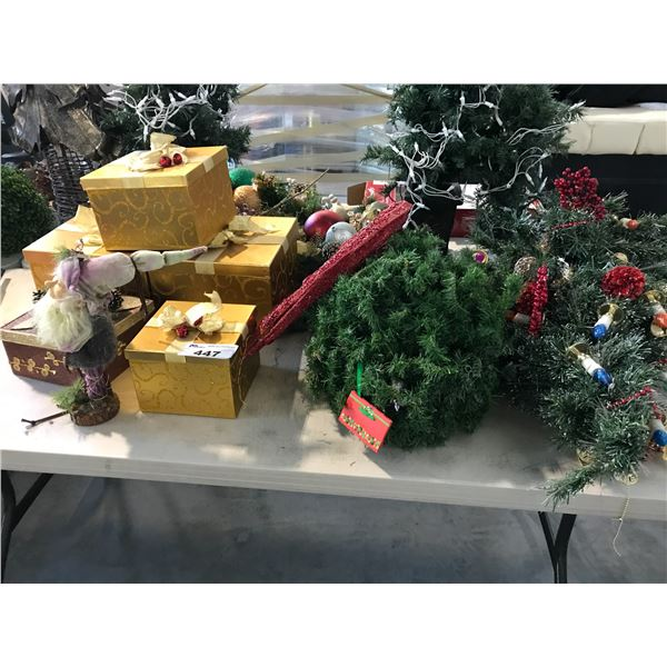 LOT OF MISC HOLIDAY DECOR