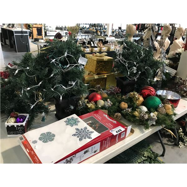 LOT OF MISC. HOLIDAY DECOR