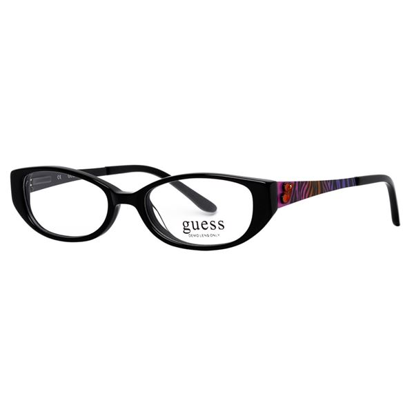 GUESS DESIGNER READING GLASSES GU 9052 - BLACK LENS SIZE 47-15-130MM